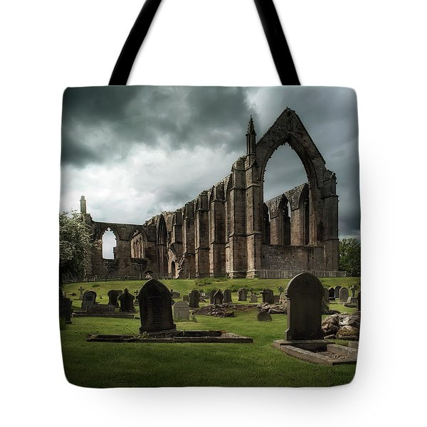 Ruins Of Bolton Abbey Tote Bag by Jaroslaw Blaminsky