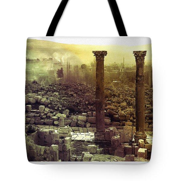 Ruins Of Jurash Tote Bag