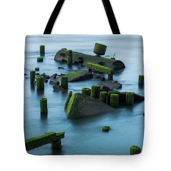 Ruins Of The Day Tote Bag