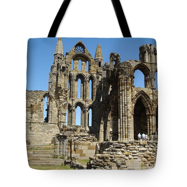 Ruins Of Whitby Abbey Tote Bag