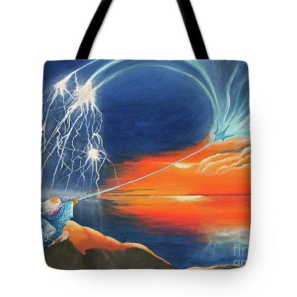 Ruler Of The Seas Tote Bag