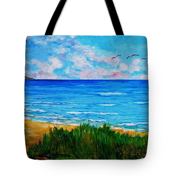 Rullsands Beach / Sweden-gaevle Tote Bag
