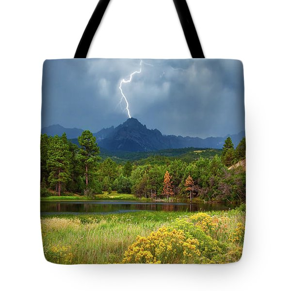 Run For Cover Tote Bag