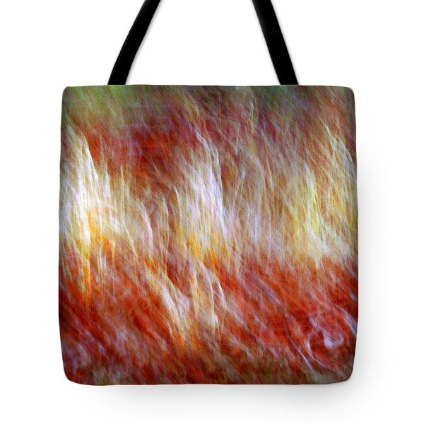 Run Like Hell Tote Bag by Linda Sannuti