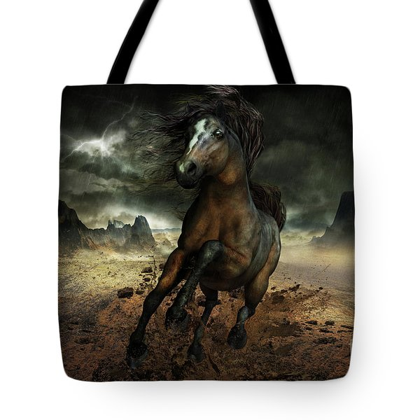 Run Like The Wind Tote Bag