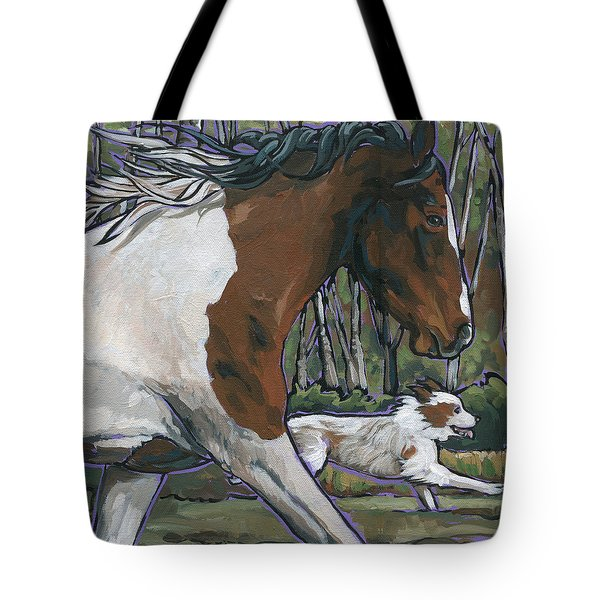 Run Tote Bag by Nadi Spencer