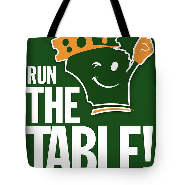 Run The Table Tote Bag