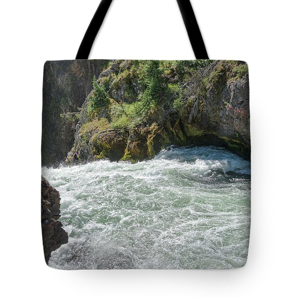 Run To The Brink Tote Bag