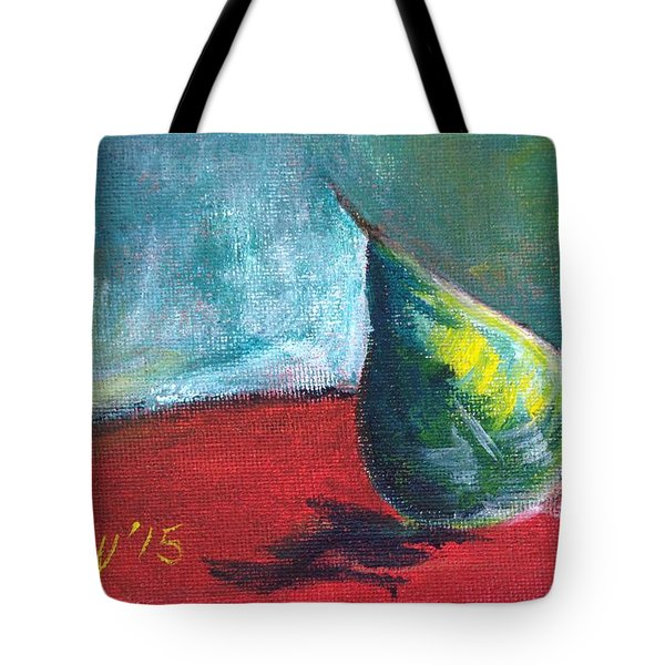 Runaway Pear Tote Bag
