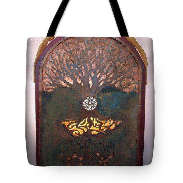 Runes For Restoration Illuminated Tote Bag