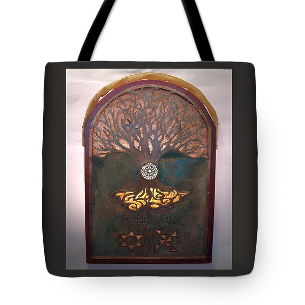 Runes For Restoration Illuminated Tote Bag