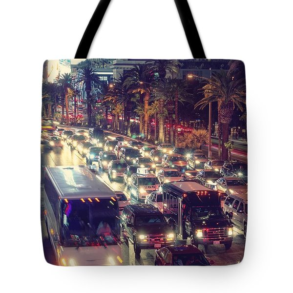 Tote Bag featuring the photograph Running Around On Fossil Fuel by Peter Thoeny