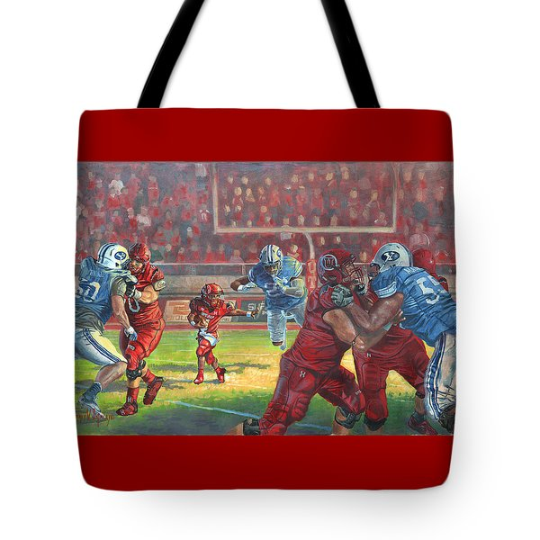 Running Courage Tote Bag