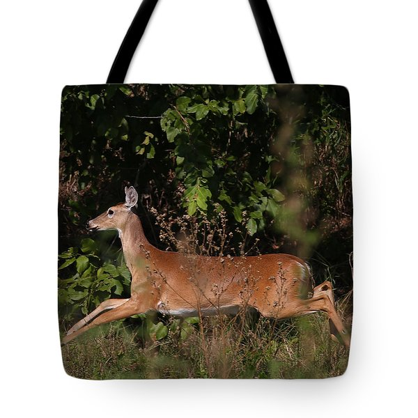 Running Deer Tote Bag