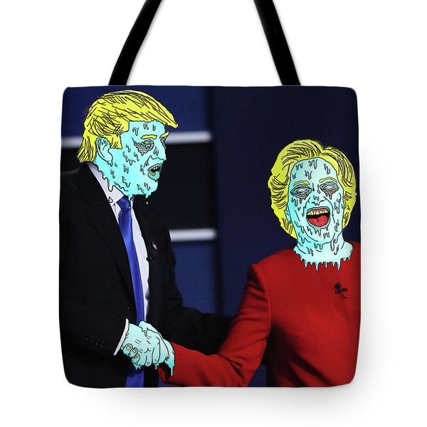 Running Down The Same Cloth. Tote Bag