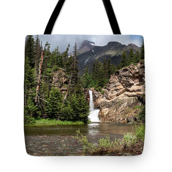 Running Eagle Falls Tote Bag