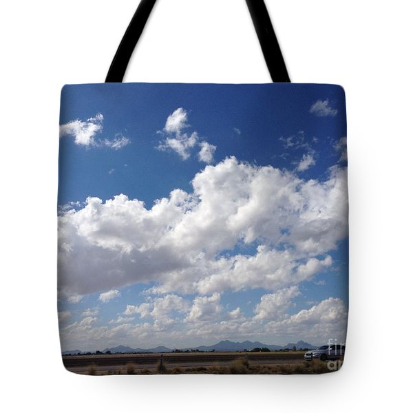 Running Hills Tote Bag