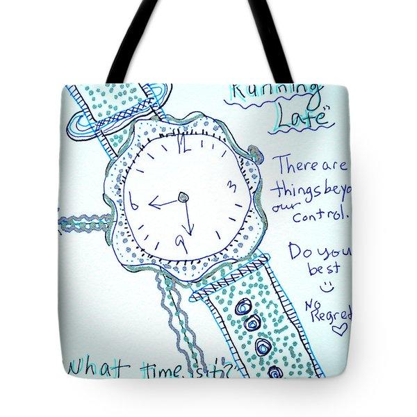 On Time Tote Bag