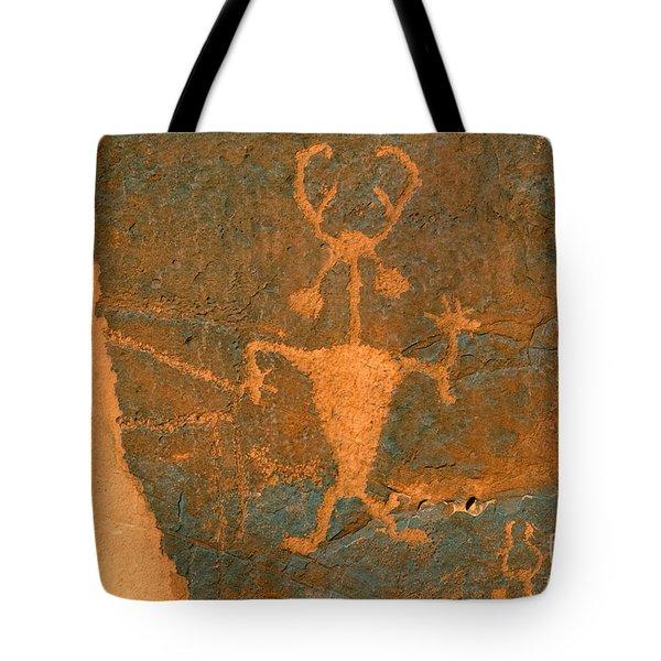 Running Man Tote Bag by David Lee Thompson