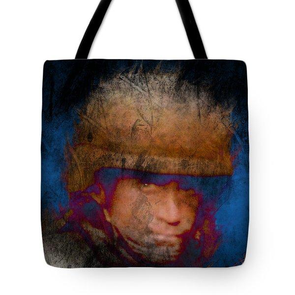 Running On Faith Tote Bag