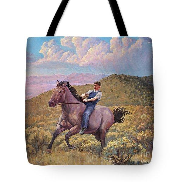 Runaway Roan Tote Bag
