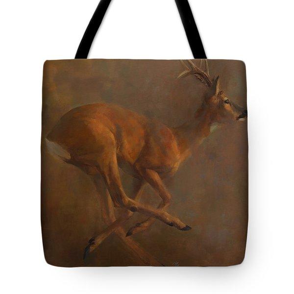 Running Roe Tote Bag