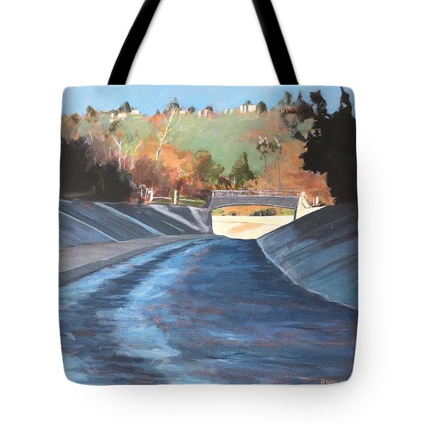 Running The Arroyo, Wet Tote Bag