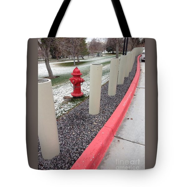 Running The Gauntlet Tote Bag by Richard W Linford