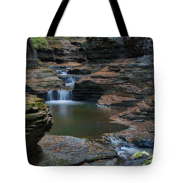 Running Water Tote Bag