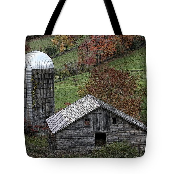Rupert Mountain Face Barn Tote Bag