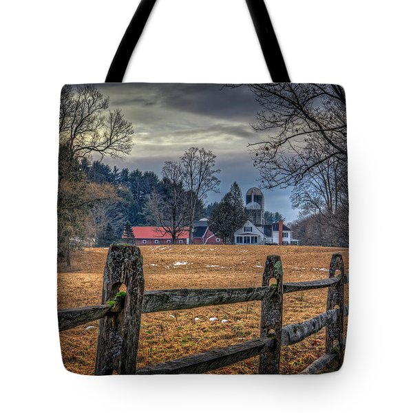 Rural America Tote Bag by Everet Regal