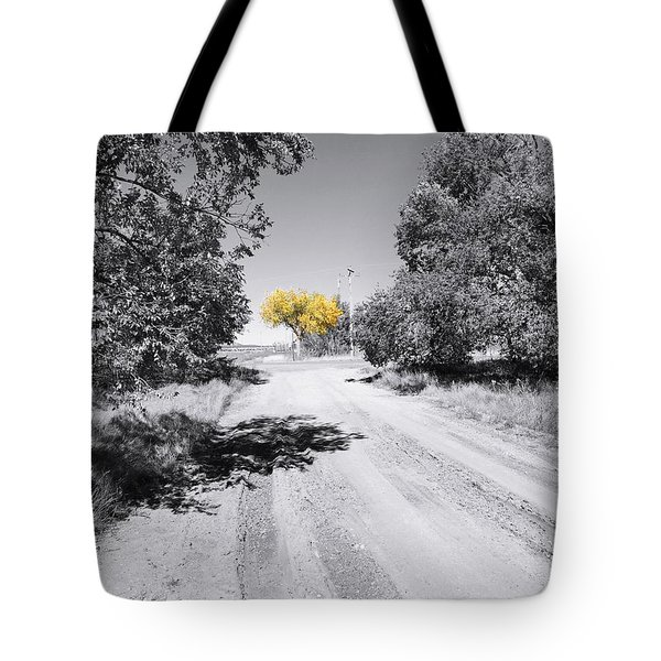 Rural Autumn Splash Tote Bag