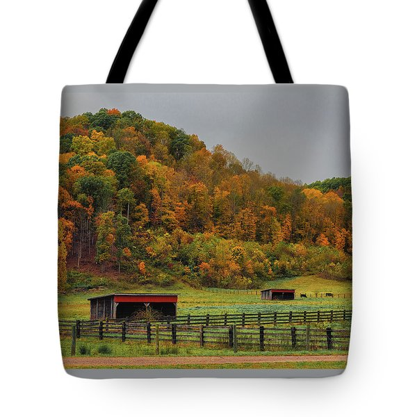 Rural Beauty In Ohio  Tote Bag