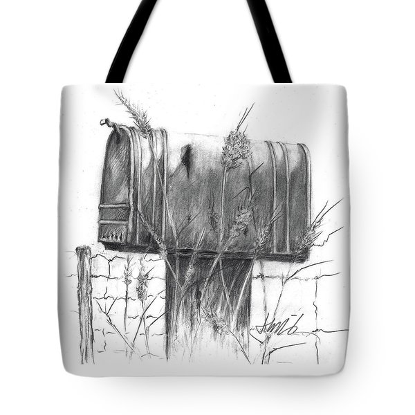 Rural Country Mailbox Tote Bag