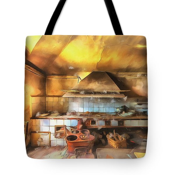 Tote Bag featuring the photograph Rural Culinary Atmosphere Nr 2 - Atmosfera Culinaria Rurale IIi Paint by Enrico Pelos