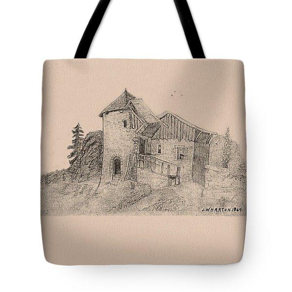 Rural English Dwelling Tote Bag