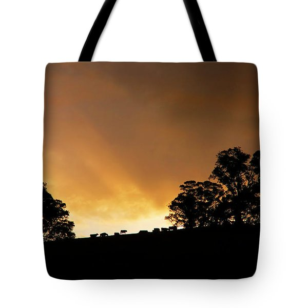 Rural Glory Tote Bag by Mike  Dawson