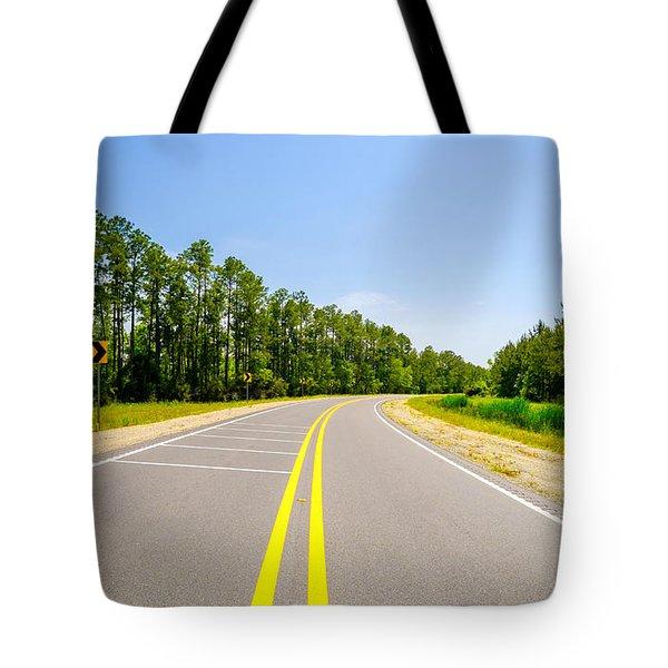 Rural Highway Tote Bag