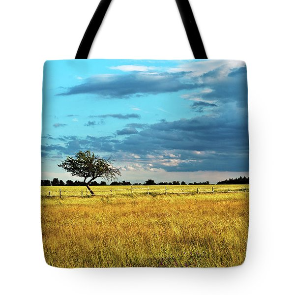 Tote Bag featuring the photograph Rural Idyll Poetry by Silva Wischeropp