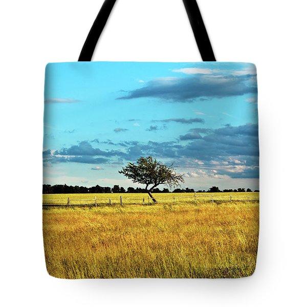 Rural Idyll Poetry Tote Bag