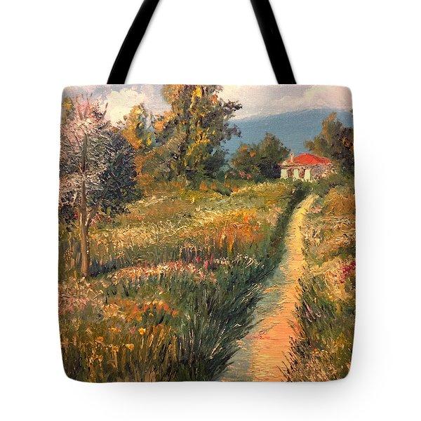 Rural Idyll Tote Bag