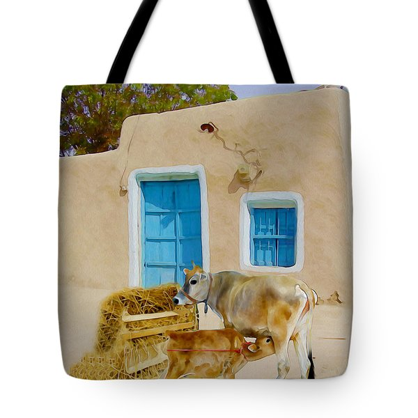 Rural Life  Tote Bag