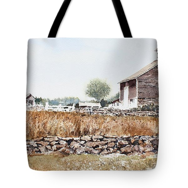 Rural Maine Tote Bag by Monte Toon