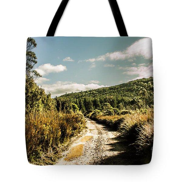 Rural Paths Out Yonder Tote Bag