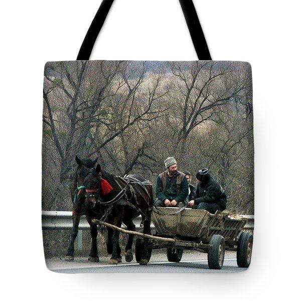 Rural Romania Tote Bag