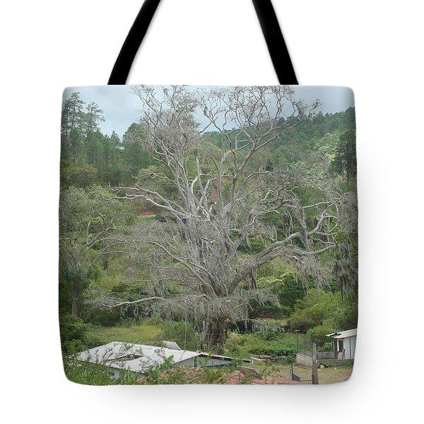 Rural Scenery Tote Bag