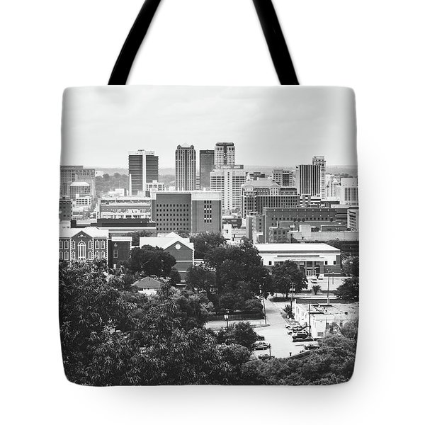 Tote Bag featuring the photograph Rural Scenes In The Magic City by Shelby Young