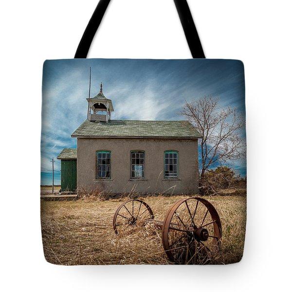 Rural School Tote Bag