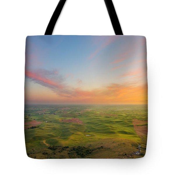 Rural Setting Tote Bag by Ryan Manuel