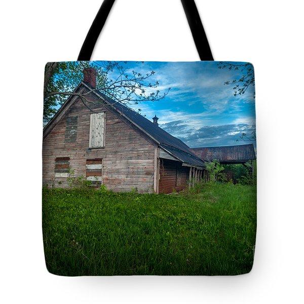 Rural Slaughterhouse Tote Bag